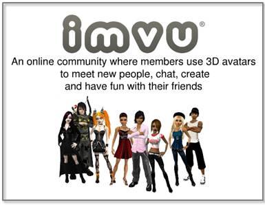 IMVU vs  Second Life: Comparing 3D Worlds Online - TechMundu com